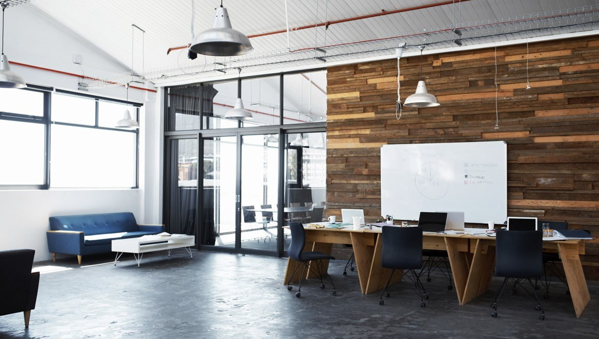 New office interior