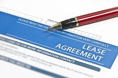 Commercial lease agreement for business