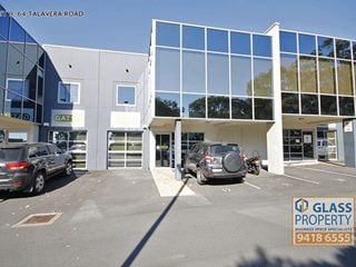 FOR LEASE - Offices | Industrial | Showrooms - Unit 9, 64 Talavera Road, North Ryde, NSW 2113