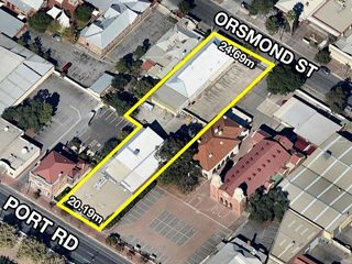 AUCTION 3/08/2016 - Investment | Offices - 242 Port Road and 53 Orsmond Street, Hindmarsh, SA 5007
