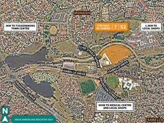 TENDER - Development/Land - 219 Clive Steel Avenue, Monash, ACT 2904